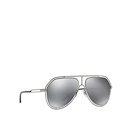Dolce & Gabbana - Grey DG2176 pilot sunglasses