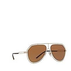 Dolce & Gabbana - Gold DG2176 pilot sunglasses
