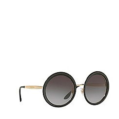 Dolce & Gabbana - Black  DG2179 round sunglasses