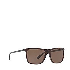 Ralph Lauren - Havana 0rl8157 rectangle sunglasses