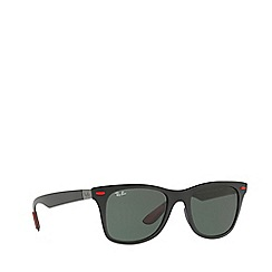 Ray-Ban - Black RB4195M square sunglasses