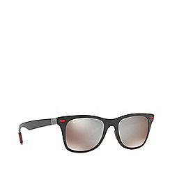 Ray-Ban - Black 0rb4195m square sunglasses
