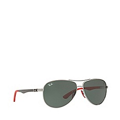 Ray-Ban - Gunmetal RB8313M pilot sunglasses