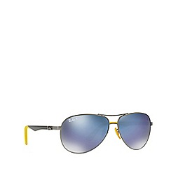 Ray-Ban - Gunmetal 0rb8313m pilot sunglasses