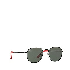 Ray-Ban - Black 0rb3548nm square sunglasses
