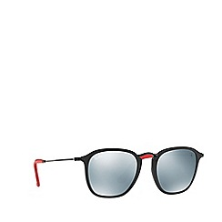 Ray-Ban - Black 0rb2448nm square sunglasses