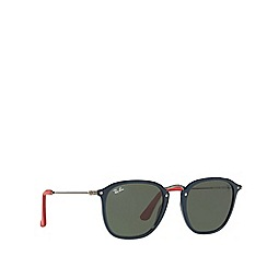 Ray-Ban - Blue 0rb2448nm square sunglasses
