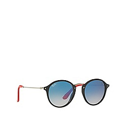 Ray-Ban - Black 0rb2447nm phantos sunglasses