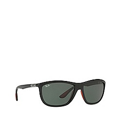Ray-Ban - Black 0rb8351m square sunglasses