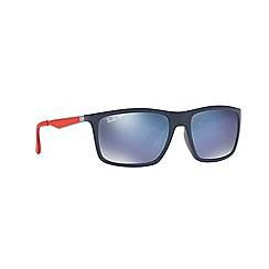 Ray-Ban - Blue 0rb4228m rectangle sunglasses