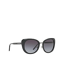 Michael Kors - Black Lisbon round sunglasses