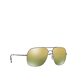 Ray-Ban - Gunmetal RB3587CH square sunglasses