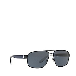 Polo Ralph Lauren - Blue PH3112 pilot sunglasses