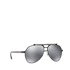 Dolce & Gabbana - Gunmetal/Black DG2189 pilot sunglasses