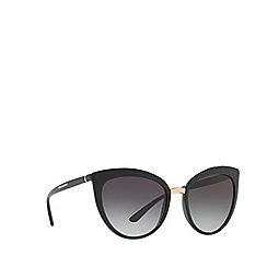 Dolce & Gabbana - Black DG6113 cat eye sunglasses