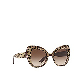 Dolce & Gabbana - Bordeaux DG4319 butterfly sunglasses