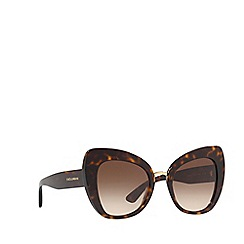 Dolce & Gabbana - Havana DG4319 butterfly sunglasses