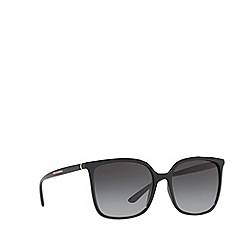 Dolce & Gabbana - Black DG6112 square sunglasses