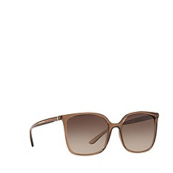 Dolce & Gabbana - Brown DG6112 square sunglasses