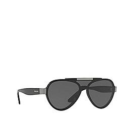 Prada - Black PR 01US pilot sunglasses