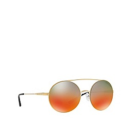 Michael Kors - Gold CABO round sunglasses