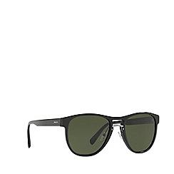 Prada - Black PR 09US pilot sunglasses
