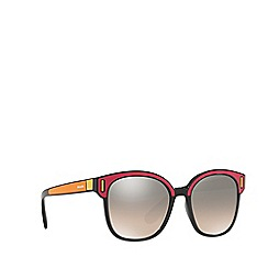Prada - Orange PR 05US square sunglasses