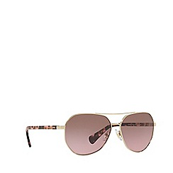 Ralph - Gold RA4123 pilot sunglasses