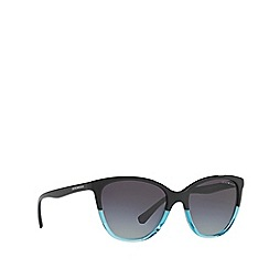 Emporio Armani - Blue EA4110 cat eye sunglasses