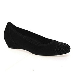 Gabor - Black mira womens casual shoes