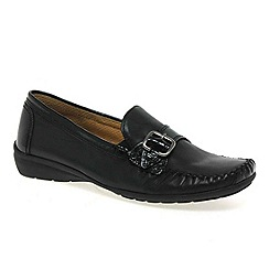 Gabor - Black 'poppins' womens casual shoes