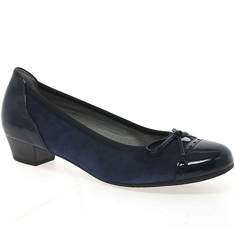 Gabor - Blue +Delius+ court shoes