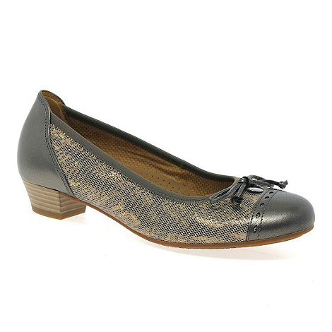 Gabor - Silver +Delius+ court shoes