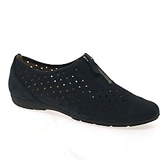 Gabor - Navy 'Gibson' womens casual shoes