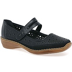 Rieker - Black 'Vendee' Womens Casual Shoes