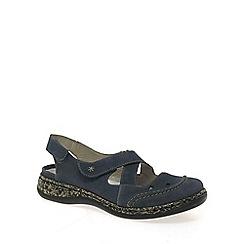 Rieker - Navy 'Capri' womens casual shoes