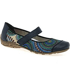 Rieker - Blue 'Gillian' womens casual shoes