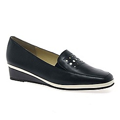 Van Dal - Navy Napa Womens Casual Shoes