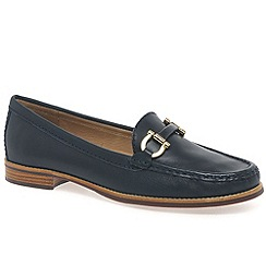 Maria Lya - Dark blue 'Snaffle' womens casual shoes