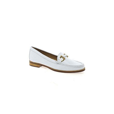 Maria Lya - White +Snaffle+ womens casual shoes