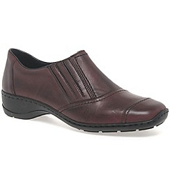 Rieker - Maroon 'Star' Womens Casual Shoes