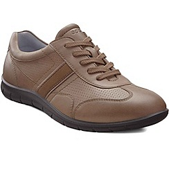 Ecco - Brown 'Babett Lace' Womens Casual Shoes