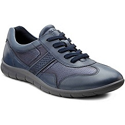 Ecco - Blue 'Babett Lace' Womens Casual Shoes