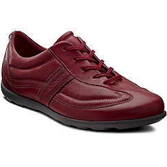 Ecco - Maroon Cayla Lace Womens Casual Shoes