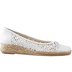 Van Dal - White 'Monetary' women's casual shoes