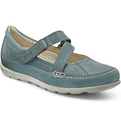 Ecco - Blue 'Cayla z' mary jane womens shoes