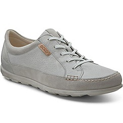 Ecco - Grey 'Cay lace' premium womens trainers