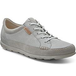 Ecco - Grey 'Cay lace' premium womens trainers