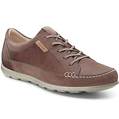 Ecco - Brown 'Cay lace' premium womens trainers