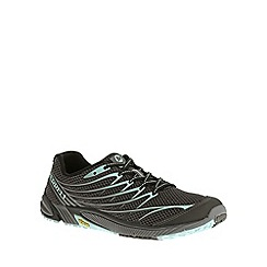 Merrell - Black bare access arc 4 black running trainers